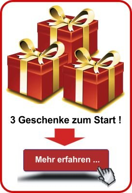 3 Geschenke zum Start